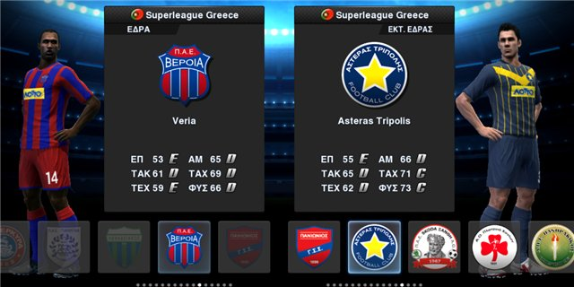 Скачать PESEdit.com Patch v.2.3(Greek Superleague Add-on) для PES 2013
